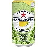 San Pellegrino, Orgánica con té negro y jugo de limón 250mililitros, Paquete de 12