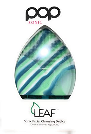 Pop Sonic Leaf Reviews >> Amazon Com Pop Sonic Leaf Sonic Facial Cleansing Device