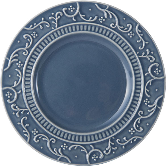 Italian Countryside Accents Scroll Blue Appetizer Plate online at Mikasa.com