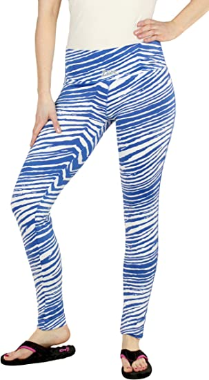 Zubaz Womens Officially Licensed NCAA Leggings