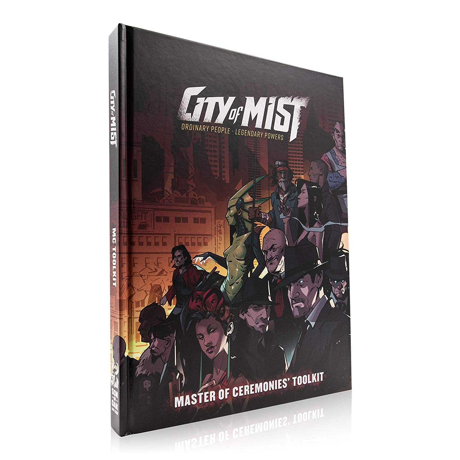 Core Premium Set City of Mist Role-Playing Game