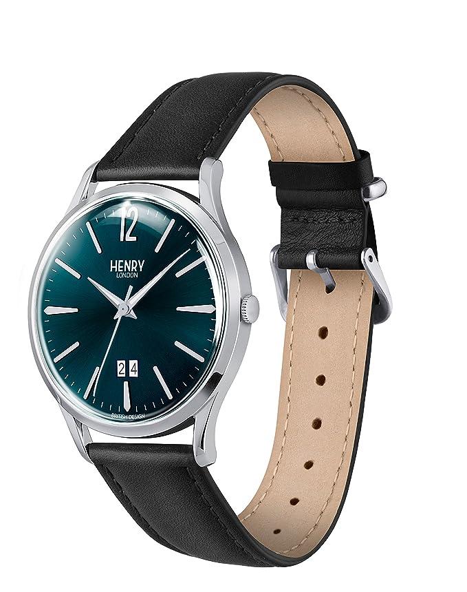 Amazon.com: Henry London Knightsbridge Mens Quartz Watch - HL41-JS-0035: Watches