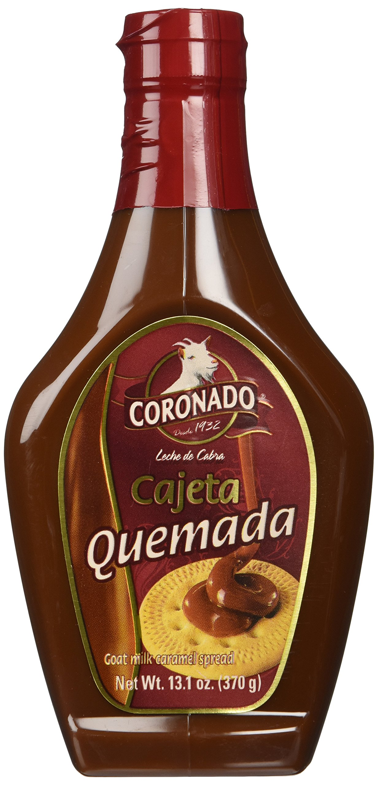 Amazon.com : Coronado Cajeta Quemada, 13.1 Oz : Dessert Toppings : Grocery & Gourmet Food