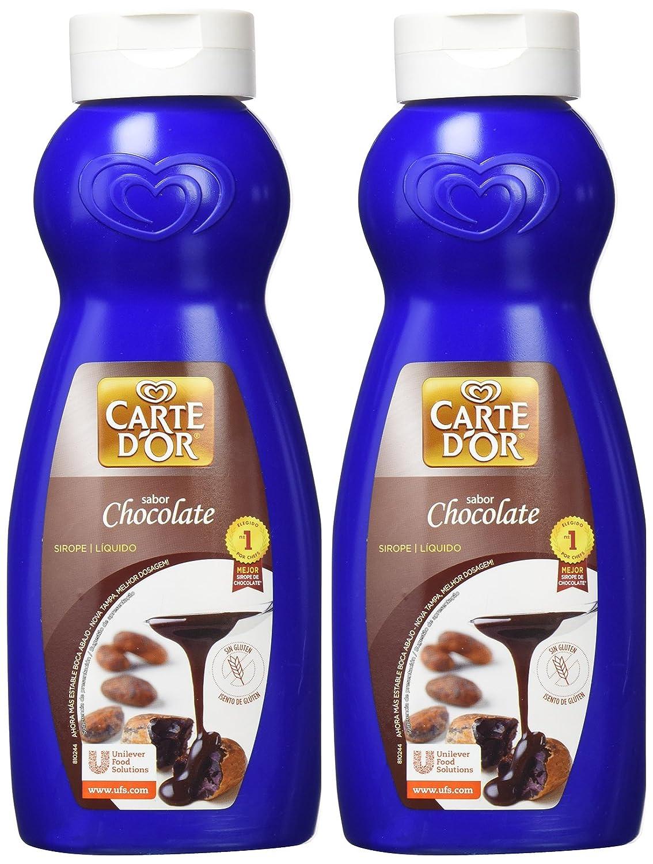 Carte DOr - Sirope líquido - Sabor chocolate - 758 ml - [Pack de 2]: Amazon.es: Alimentación y bebidas