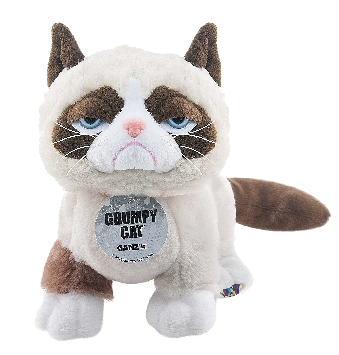 Amazon.com: Ganz Webkinz Grumpy Cat Plush: Toys & Games