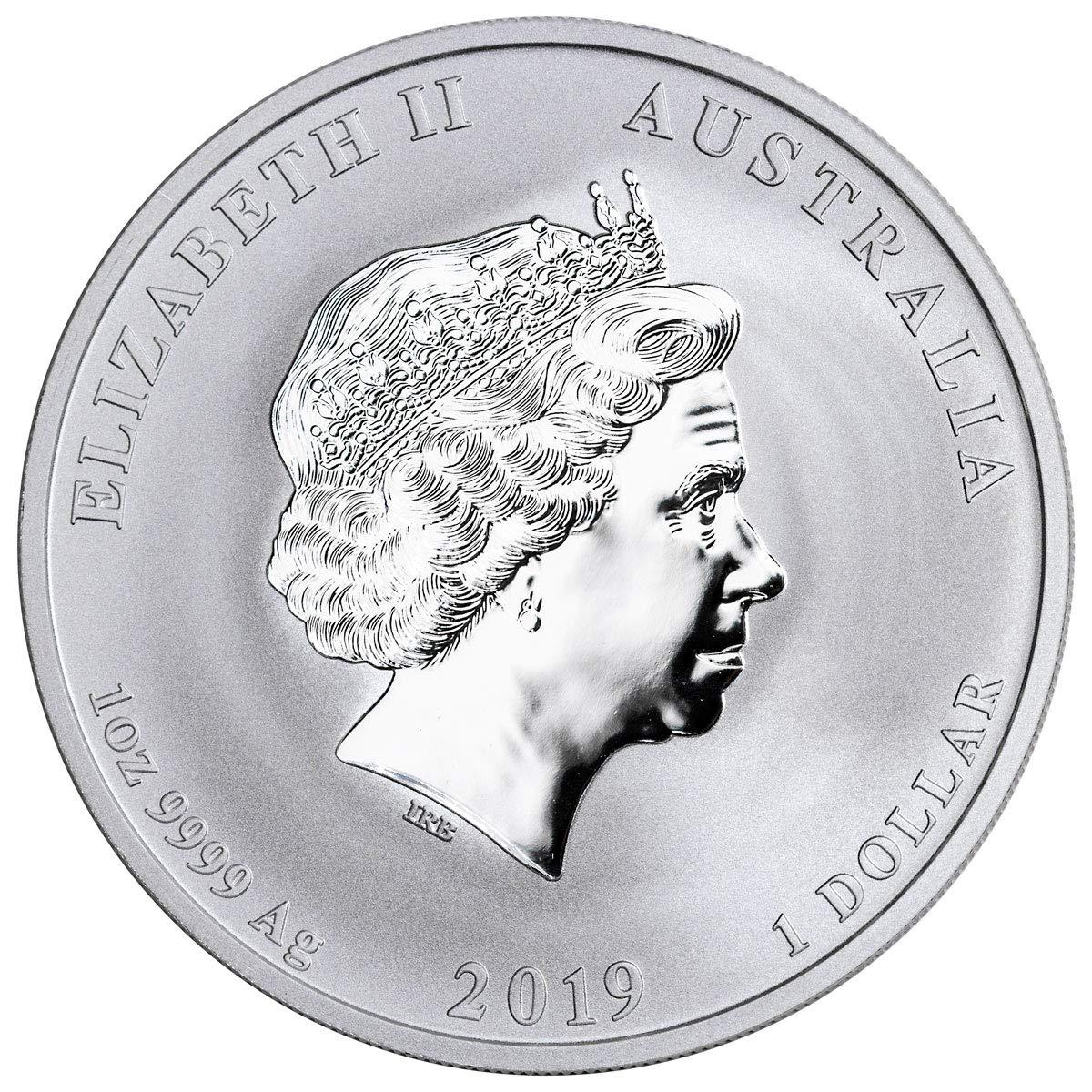 2019 Australian $1 1oz Lunar Year of the Pig Silver coin Perth Mint Bullion