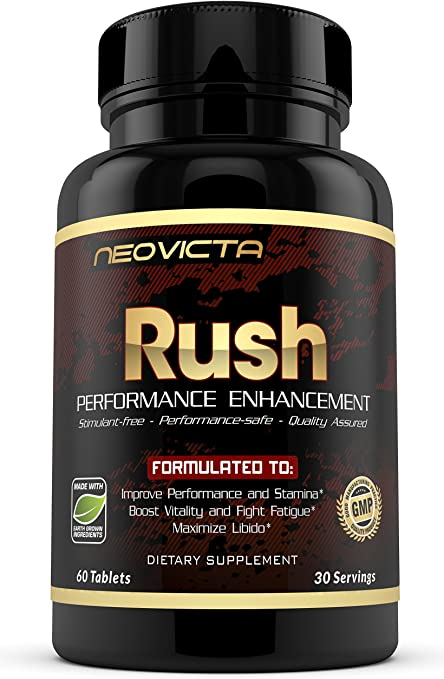 Neovicta Rush Male Enhancing Pills - Enlargement Testosterone Booster for Men - Increase Size, Stami…