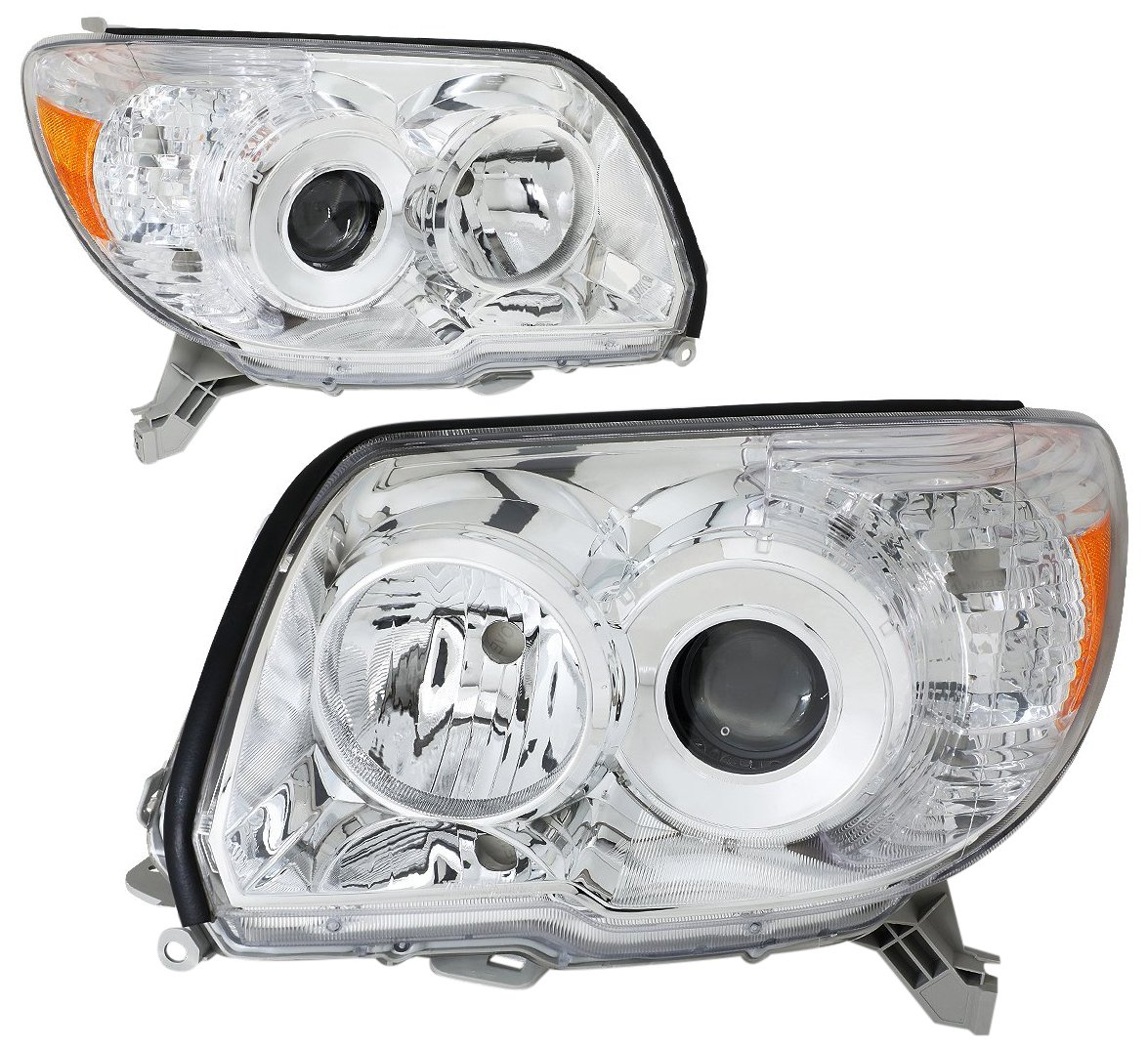 DNA MOTORING HL-OH-086-CH-AM Headlight Assembly, Driver and Passenger Side