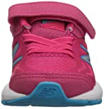 New Balance Girls' 519v1 Hook and Loop Running