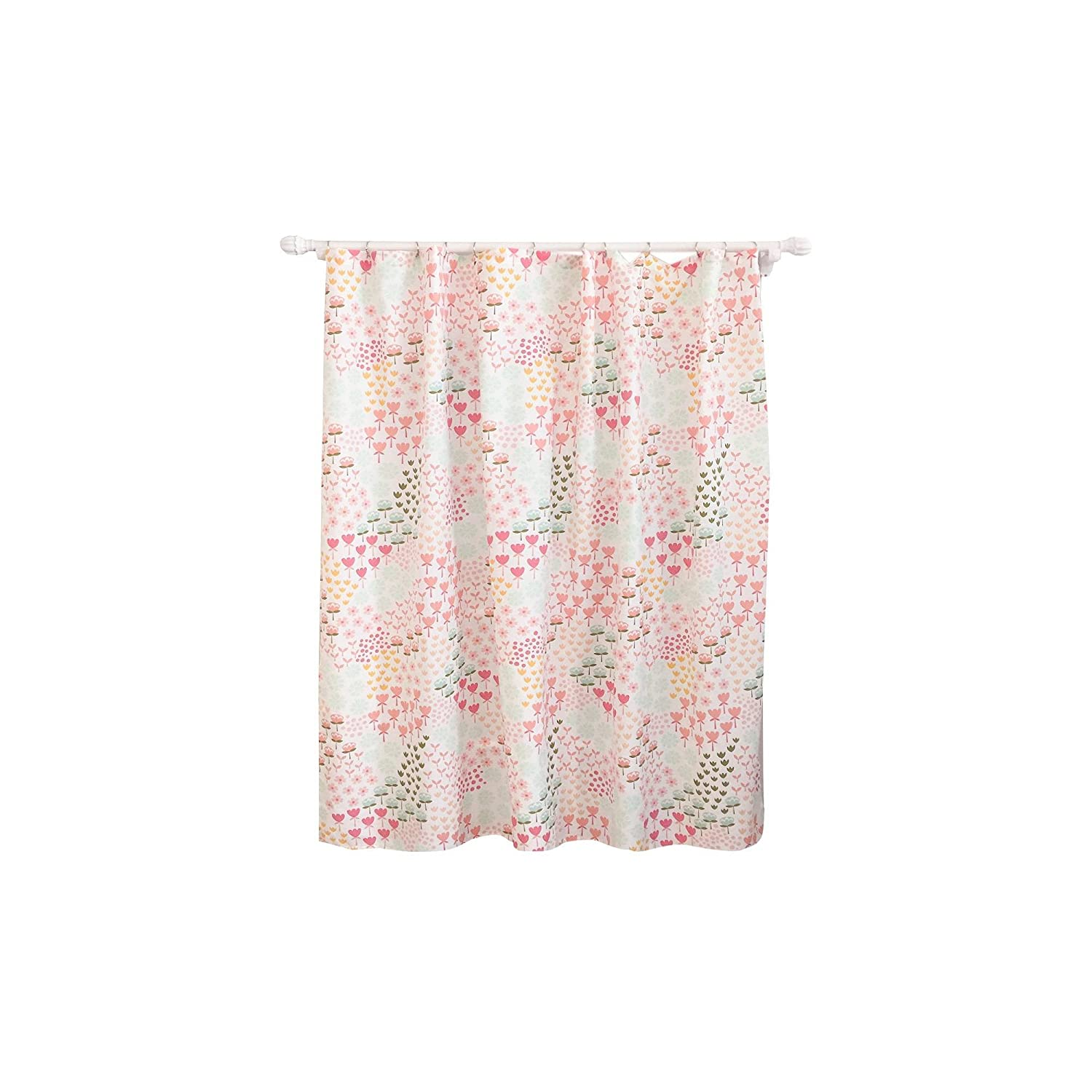 Pillowfort Twill Light Blocking Floral Curtain Panel