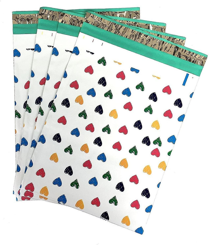 100 6x9 Purple Paisley Designer Poly Mailers Envelopes Boutique Custom Bags