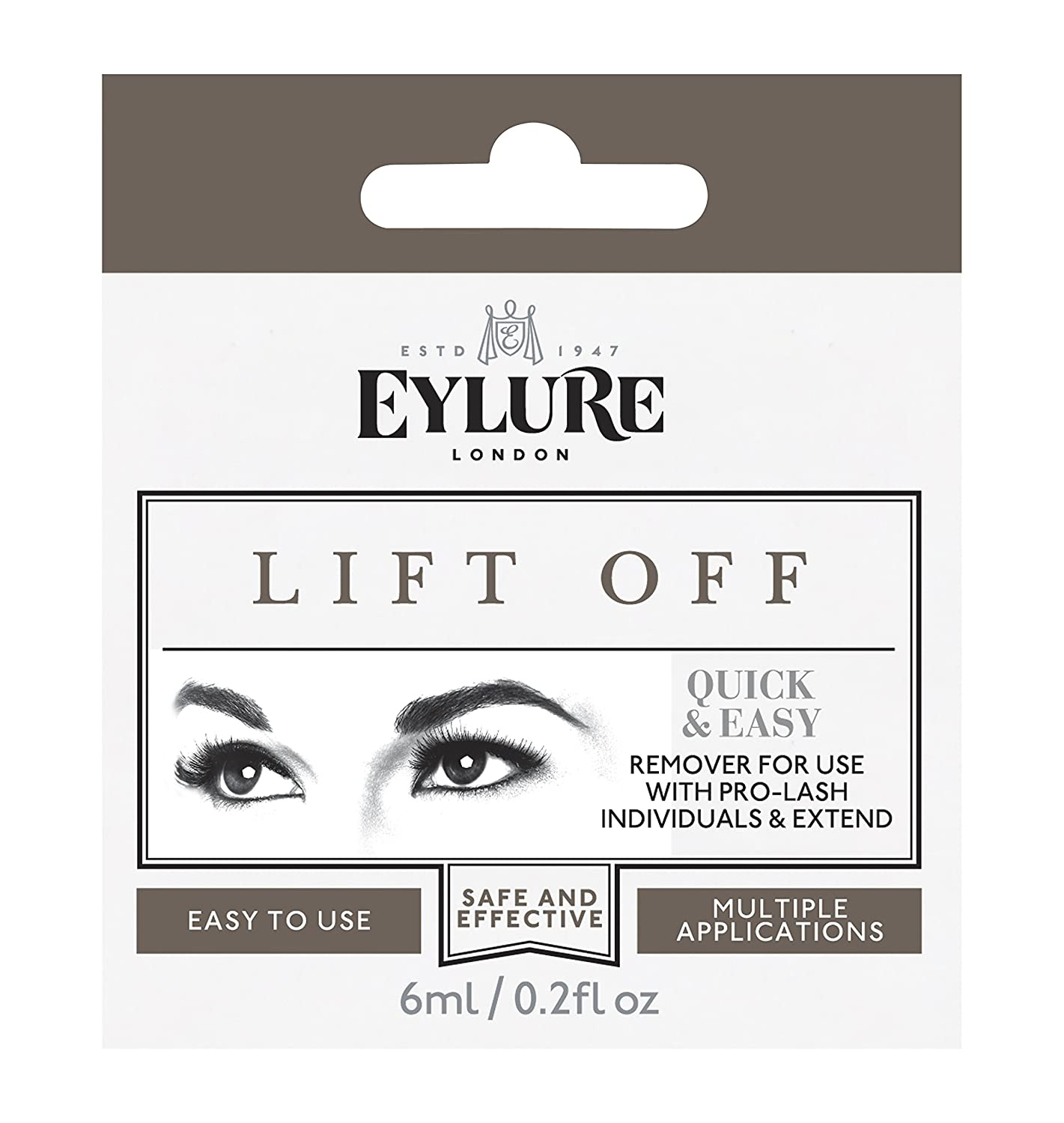 d8b643c824e Amazon.com : Eylure - Lift Off - Remover For Individual Lashes And Lash  Extend by Eylure : Beauty