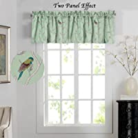 Blockour Curtains Energy Saving Curtains and Valances Set of 2