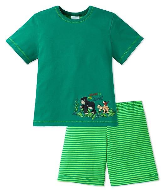 Joven Pijama verde 8 años