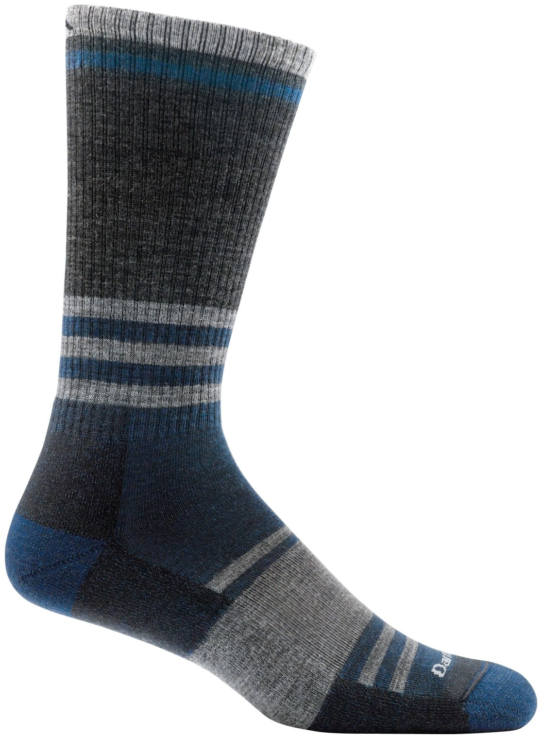 Darn Tough Spur Boot Light Cushion Sock - Men's Gray X-Large