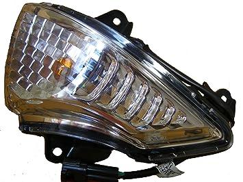 Amazon.com: 2008 – 2011 Kawasaki Ninja 650 Izquierda Turn ...