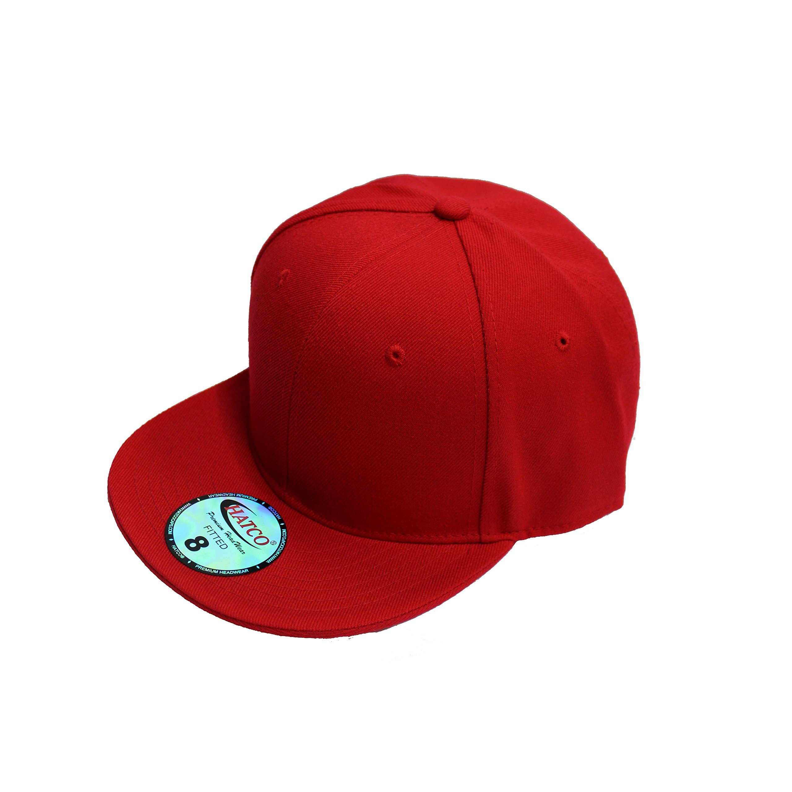 The Real Original Fitted Flat-Bill Hats by HATCO True-Fit