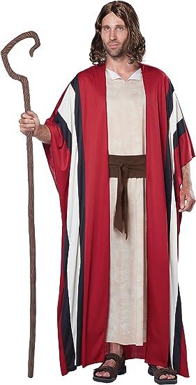 Disfraz de Moisés / pastor para hombre: Amazon.es: Juguetes y juegos