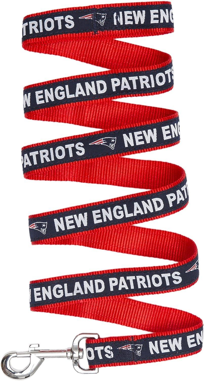 New England Patriots Pet Dog Premium 6ft Nylon Leash Lead Licensed LARGE