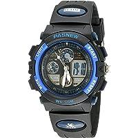 30m Water-proof Digital-analog Boys Girls Sport Digital Watch with Alarm Stopwatch Chronograph