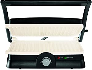 Oster 3-in-1 Panini Maker, Indoor Grill, and Grill