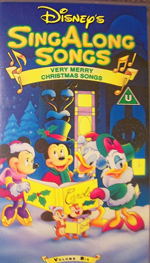 Amazon.com : Disney's Sing Along Songs: Very Merry Christmas Songs ...