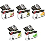 Sophies 5 Different Flavour Hookah(Pack Of 5),Black