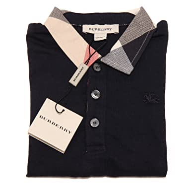 Burberry - Polo - para niño turquesa XXX-Small: Amazon.es: Ropa y ...