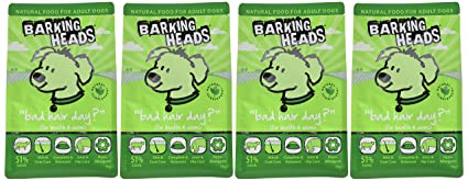 Barking Heads Dry Dog Food - Chop Lickin' Lamb - 100% Natural, Grass-Fed  Lamb with No Artificial Flavours, Good for Joint Health (4 x 1 kg)