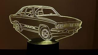 OPEL Manta, 3D-Lampe LED
