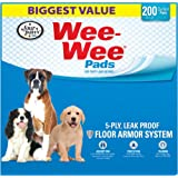 Four Paws Wee-Wee Standard Puppy Pads, 200 Ct