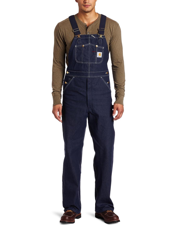 Carhartt Men's Denim Unlined Bib Overall R08 Carhartt Sportswear - Mens