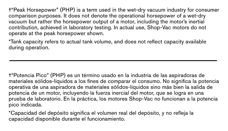 24-Gallon Shop-Vac 9626710 6.5 Peak HP Wet Dry Vacuum