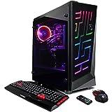 CYBERPOWERPC Gamer Xtreme VR GXiVR3000CPG Desktop (Liquid Cooled Intel i7-8700 3.2GHz, 16GB DDR4, NVIDIA GeForce GTX 1070 8GB, 2TB HDD, WiFi & Win10 Home) Black