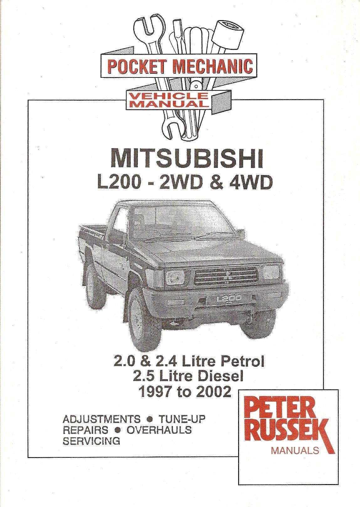 Pocket Mechanic Mitsubishi L200 2wd 4wd 1997 2002 Manual Amazon Wiring Diagram For Peter Russek Publications Ltd 9781898780519 Books