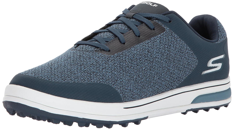 Skechers Men's Go Golf Drive 3 Golf Shoe B06XS9X13L 8.5 D(M) US|Navy/White