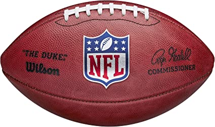Amazon Com Wilson The Duke Official Nfl Game Football New 2020 Version Sports Outdoors