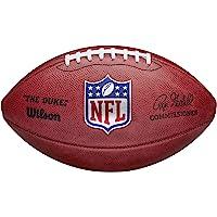 Wilson The Duke American NFL Football, officiële NFL Size, Horween Leer, Bruin