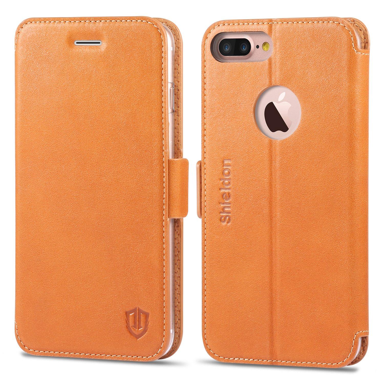 uk availability 9630b 77ec3 Amazon.com: iPhone 7 Plus Case, iPhone 7 Plus Wallet Case, SHIELDON ...