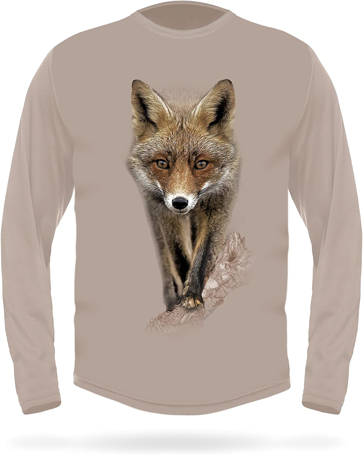 The for Hunters Premium Red Fox Long Sleeve 3D T-Shirt