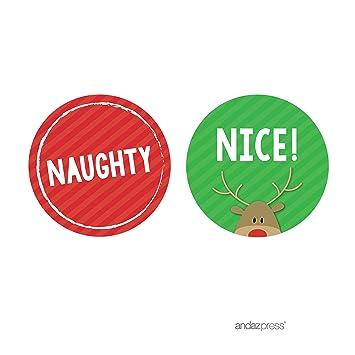 amazon com andaz press christmas collection round circle gift