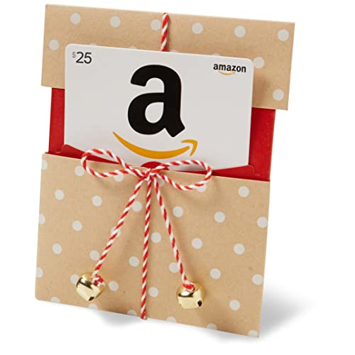 $25 Gift Card in a Kraft Paper Reveal (Classic White Card Design) image link