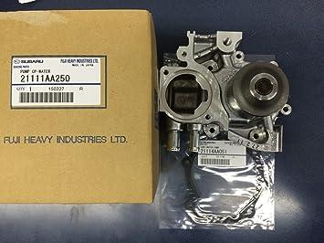 MTXtec - Bomba de agua para Subaru Forester XT Impreza WRX ej255 2008 - 2014 Turbo: Amazon.es: Coche y moto