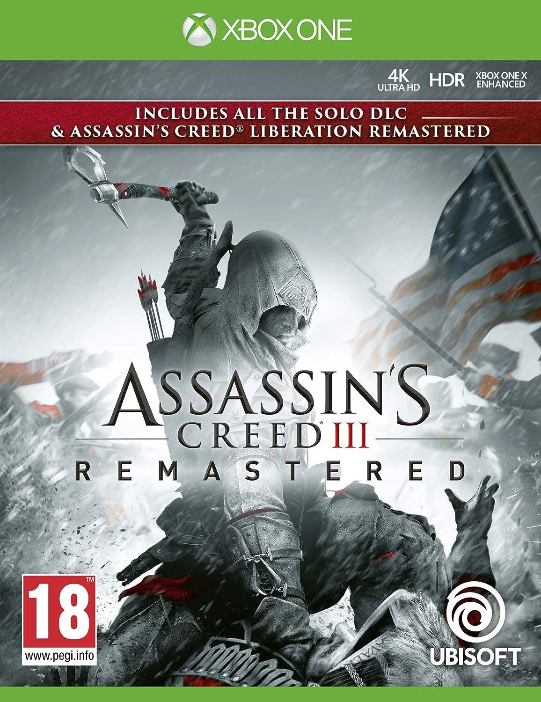 Assassins Creed III Remastered - Xbox One [Importación inglesa ...