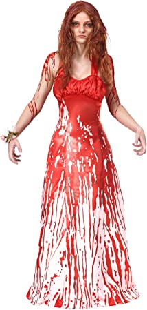 Fun Costumes Women's Carrie Fancy Dress Costume X-Small: Amazon.co.uk: Toys  & Games