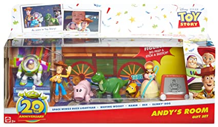 c46e6c5a947d7 Disney Pixar Toy Story 20 Aniversario Set de regalo Al sToy Barn