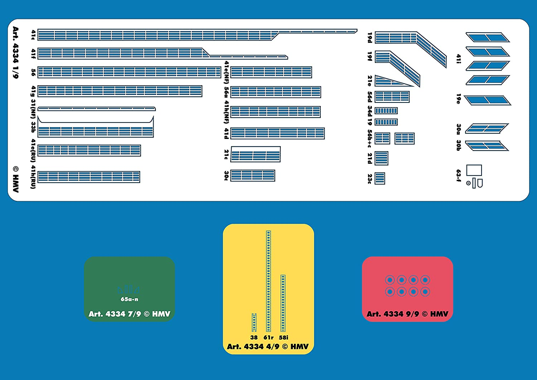 HMV 4334 Lasercut-Detailset f/ür F/ährschiff Rungholt