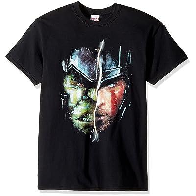 Marvel Men's Thor Ragnarok Two Face T-Shirt