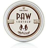 Natural Dog Company - Paw Soother - Heals Dry, Cracked, Irritated Dog Paw Pads - Organic, All-Natural Ingredients, Easy to Apply