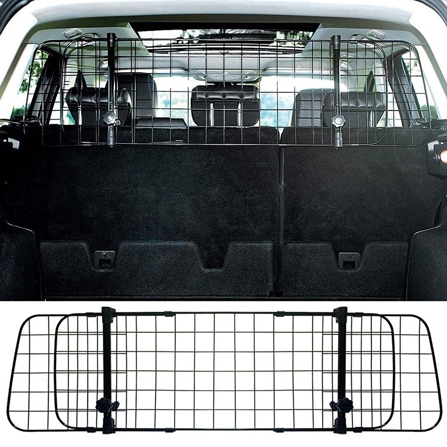 Mr E Saver/© Adjustable Rear Headrest Mesh Cat Dog Pet Guard Safety Barrier Protector HMESHRR1171